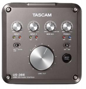 TASCAM US366 表面