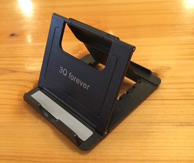 3Q Forever スマホ・ タブレット用折りたたみ薄型スタンド