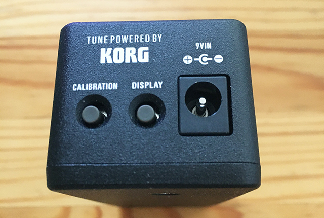 One Control Minimal Series Tuner with BJF BUFFER TUNE POWERED BY KORG