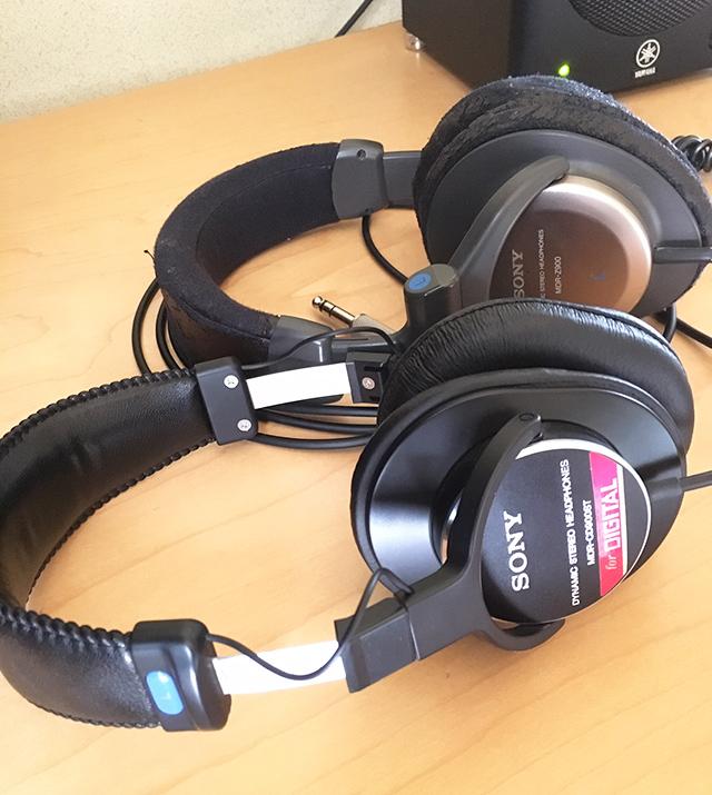 SONY MDR-CD900STとSONY MDR-Z900比較