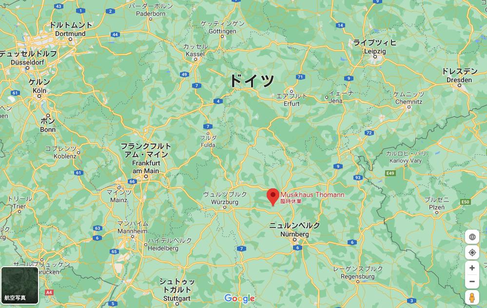Thomann map