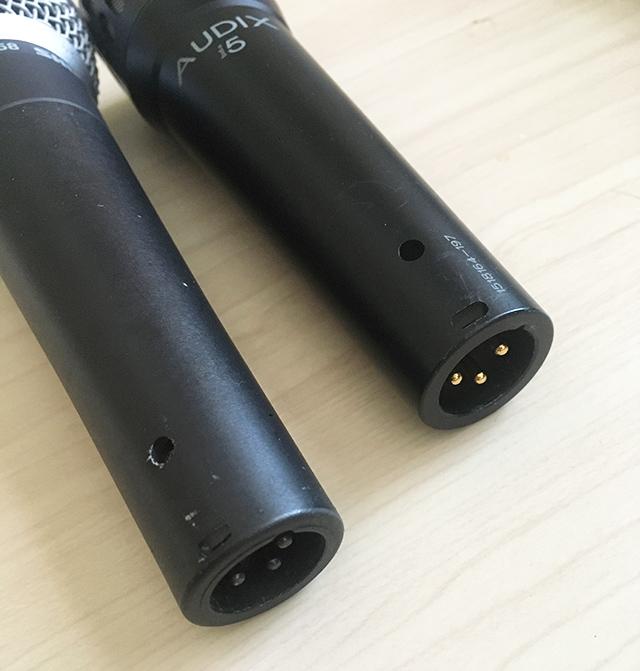 Shure SM58 AUDIX i5