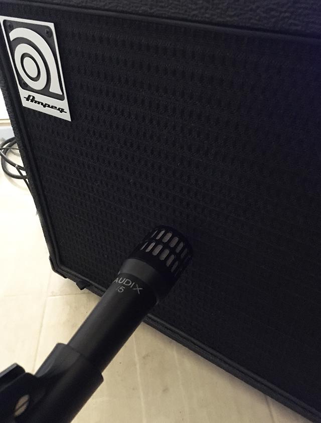 AUDIX i5 bass rec
